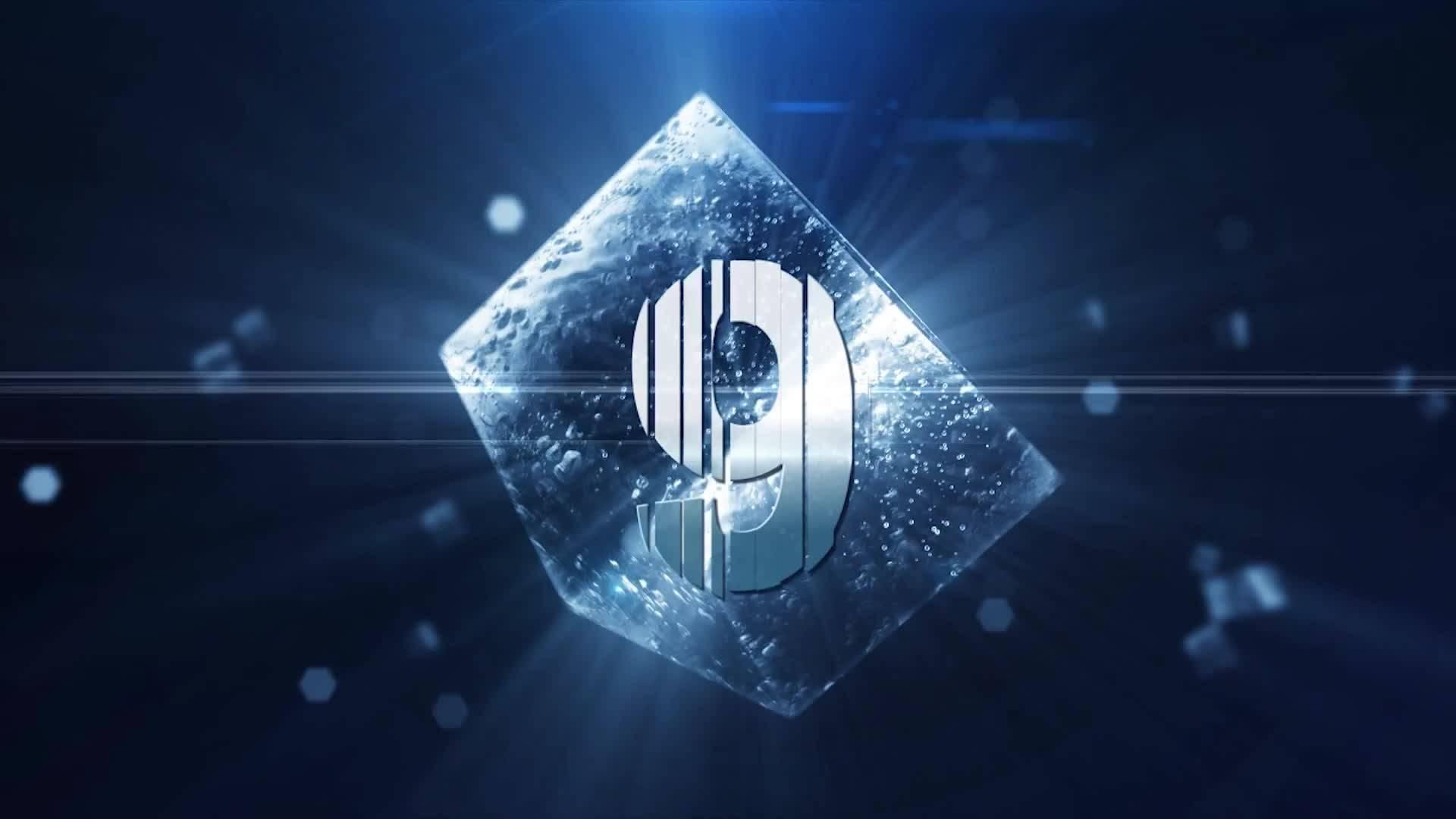 唯美水晶立方体10秒倒计时