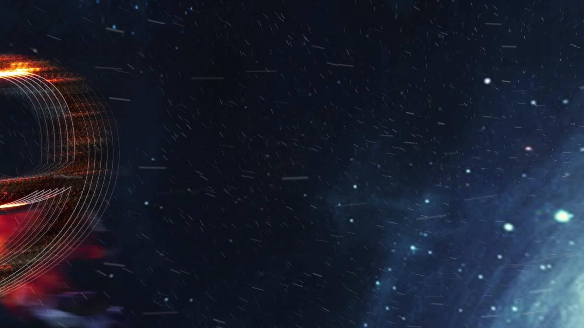 史诗大气星空宇宙10秒倒计时